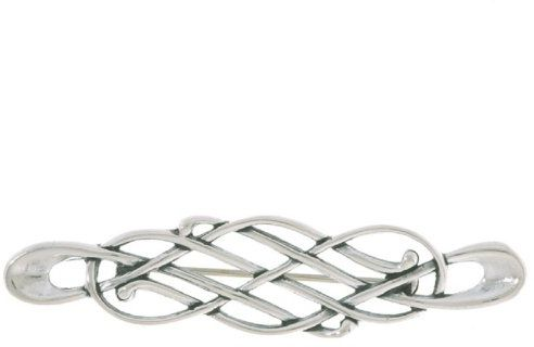 Jewelry Trends Sterling Silver Celtic Knot Pin Brooch