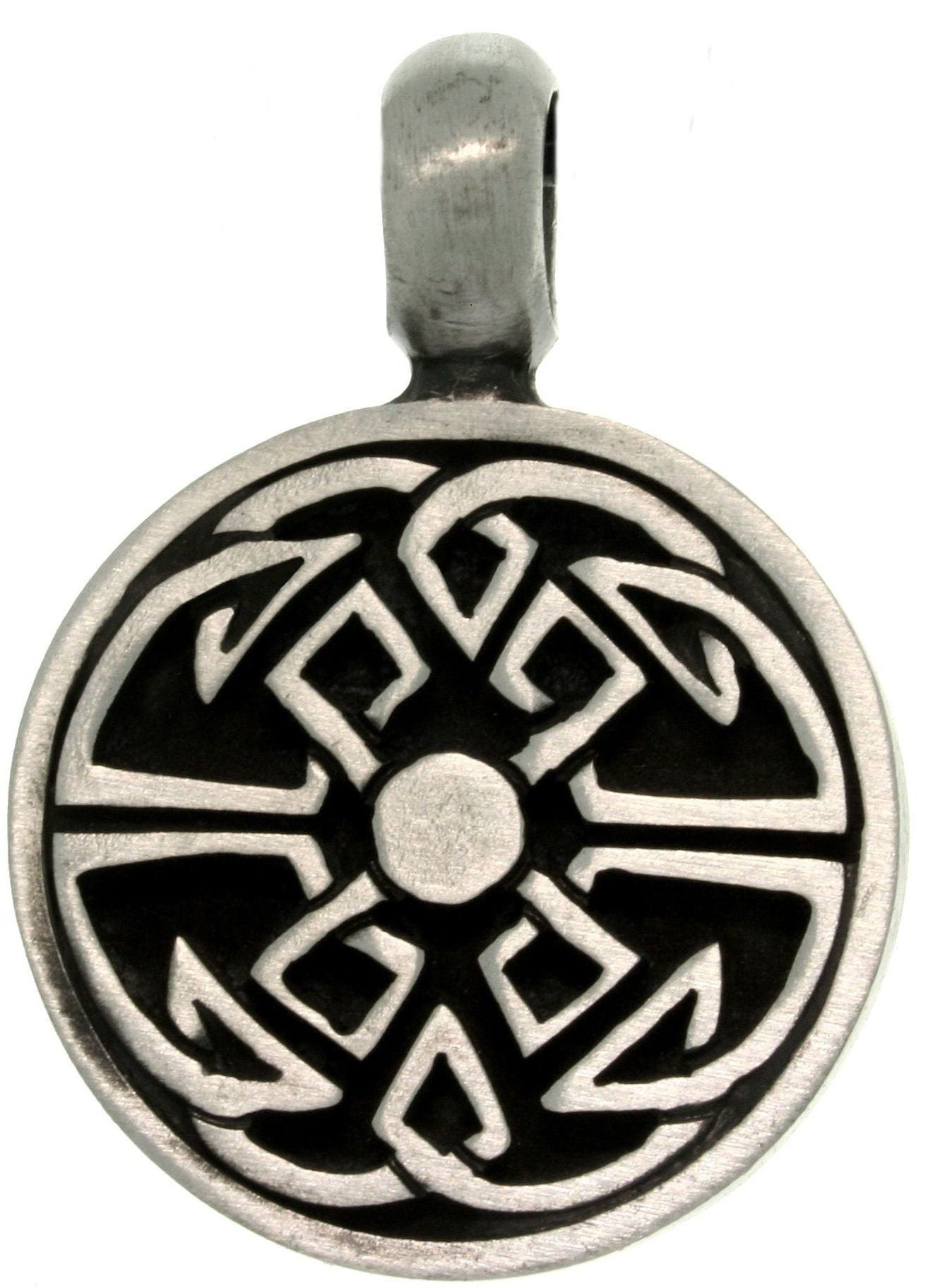 Jewelry Trends Pewter Celtic Good Fortune Unisex Pendant Jewelry