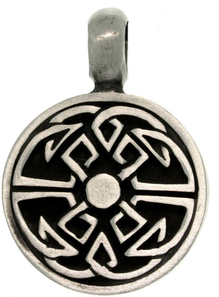 Jewelry Trends Pewter Celtic Good Fortune Unisex Pendant