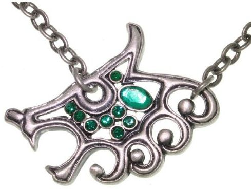 Jewelry Trends Pewter Celtic Wolf Pendant with 24 Inch Chain Necklace