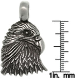 Jewelry Trends Pewter Unisex Eagle Head Pendant