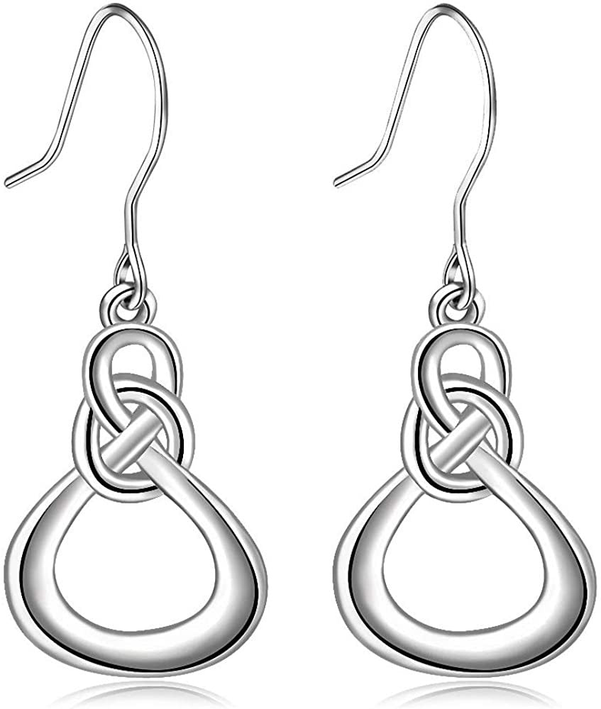 Jewelry Trends Sterling Silver Dangle Earrings