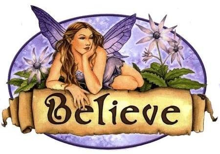 Purple Believe Fairy By Selina Fenech - Sticker / Decal