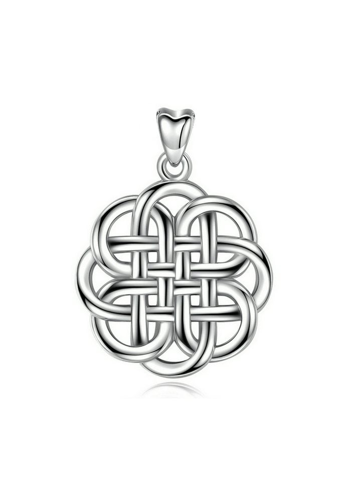 Jewelry Trends Sterling Silver Pendant Necklace 18""