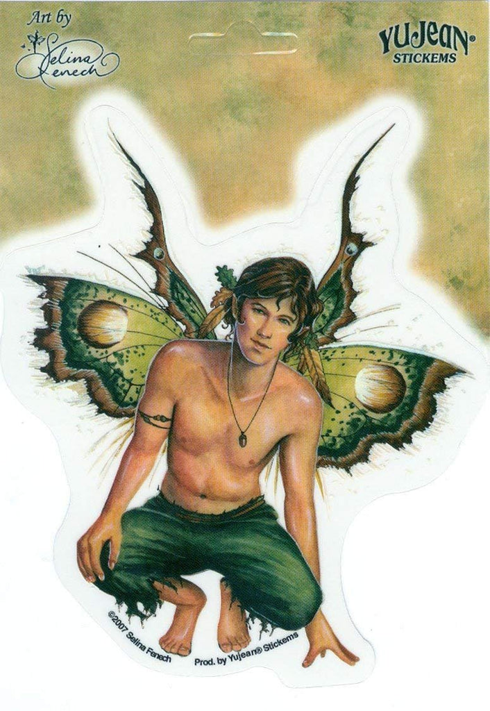 Acorn Male Fairy - Sticker by Selina Fenech