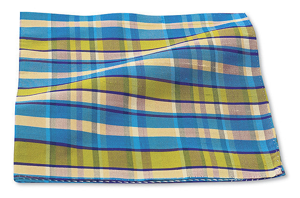Dupioni Plaids Pocket Square