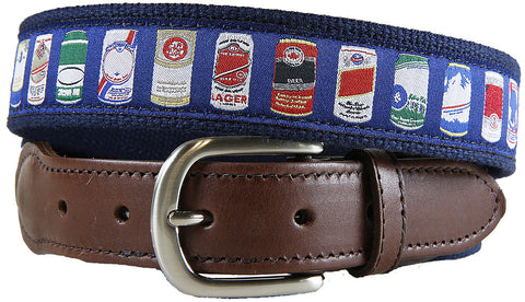 Cheap Buzz Leather Tab Belt