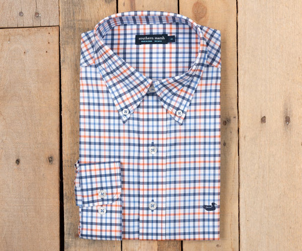 Chambers Performance Gingham Navy