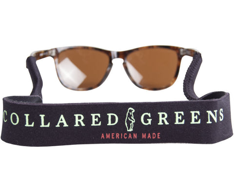 Collared Greens Black Croakies