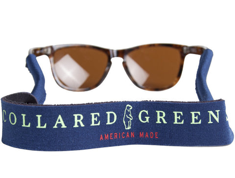 Collared Greens Navy Croakies