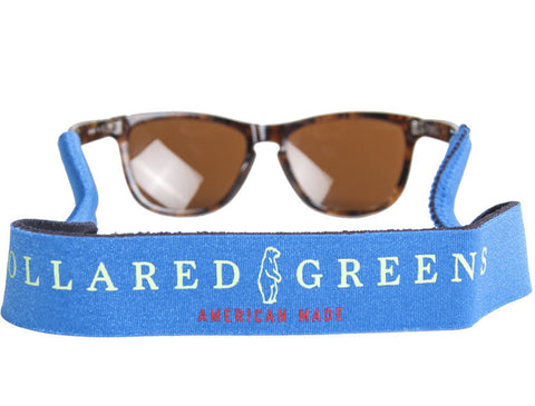 Collared Greens Royal Blue Croakies