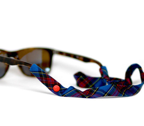 Blue & Red Plaid Croakies