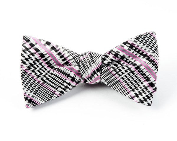 Colorful Glen Wild Pink Bow Tie