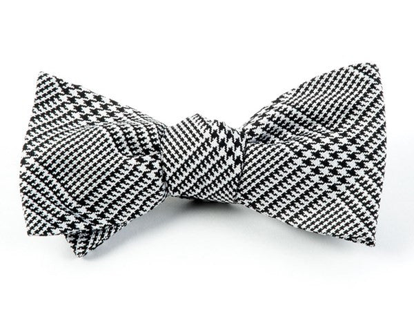 Spring Glen Black Bow Tie