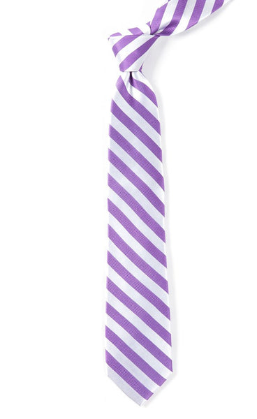 Twill White Stripe Plum