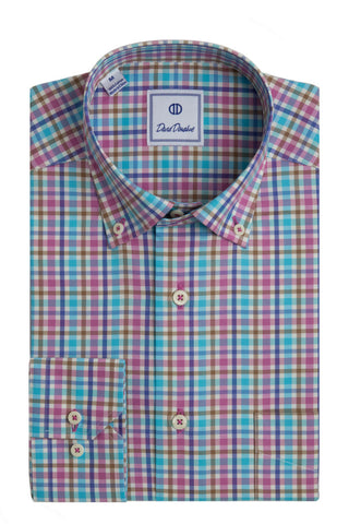 Colorful Thick Check Sport Shirt