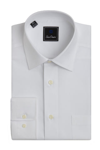 Super Fine Twill Pocket Barrel Cuff Regular Fit Dress Shirt