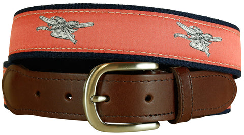 Dock Cleat Leather Tab Belt