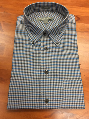Canterbury Marine and Charcoal Check