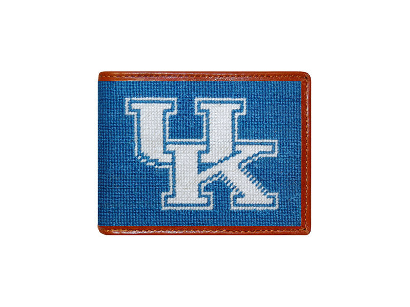 Kentucky Needlepoint Bi-Fold Wallet