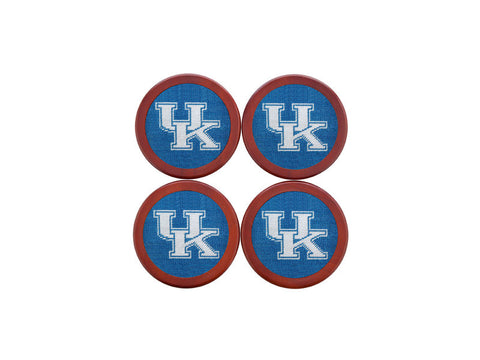 Kentucky Needlepoint Coaster Set