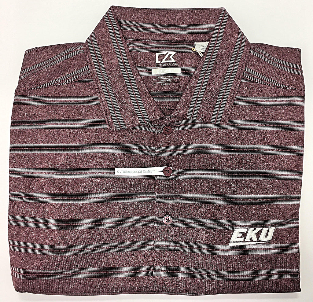 EKU Interbay Melange Stripe Polo