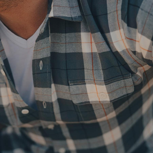 Bernard Flannel Button Down
