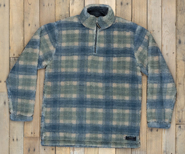 Andover Plaid Sherpa Pullover