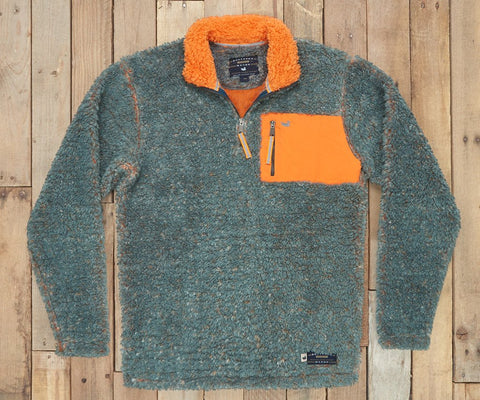 Piedmont Range Sherpa Pullover Washed Slate