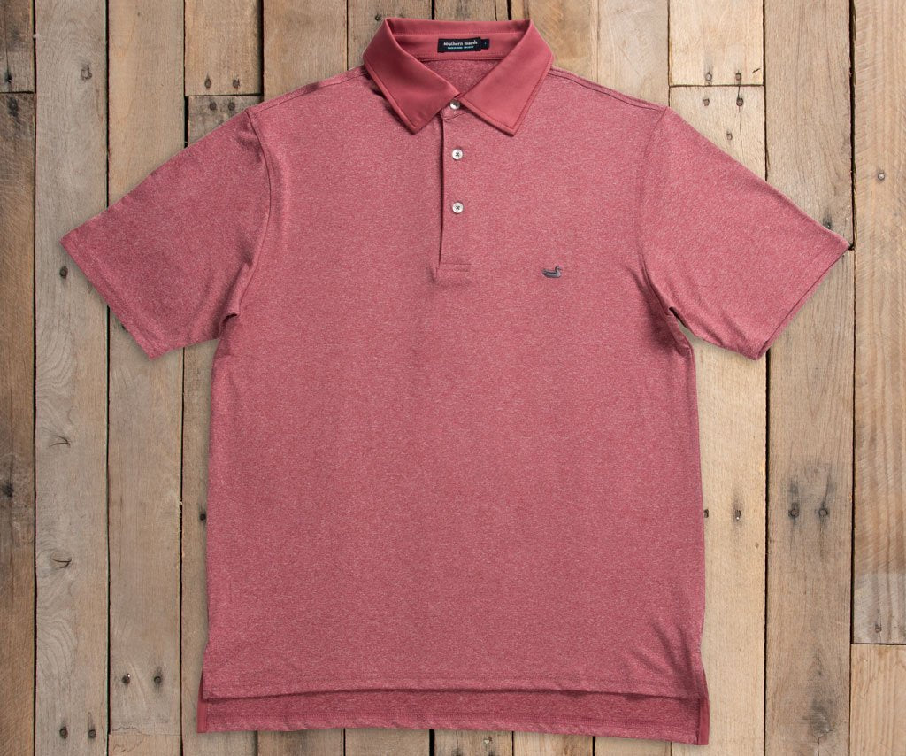 Rutledge Heather Performance Polo
