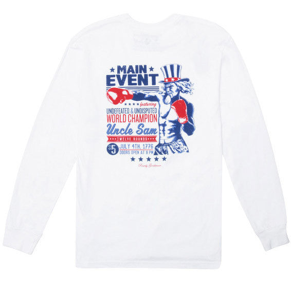 Main Event Long Sleeve Pocket Tee