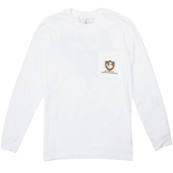 Open Season Long Sleeve Pocket Tee