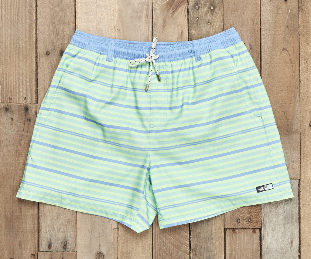 Green Dockside Swim Trunks