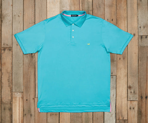 Bermuda Performance Polo - Teal