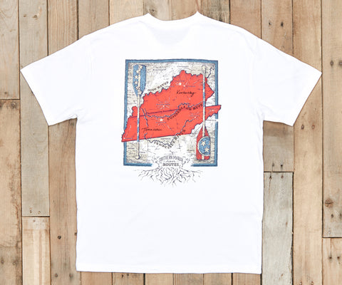 River Route Collection - Tennessee & Kentucky Pocket Tee