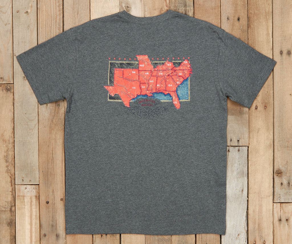 River Route Collection - The South Pocket Tee