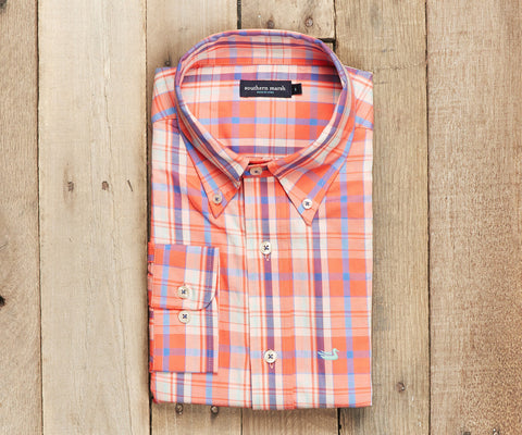 The Walton Plaid - Coral & Lilac