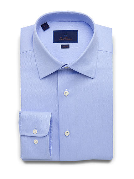 Royal Oxford Barrel Cuff Trim Fit Dress Shirt