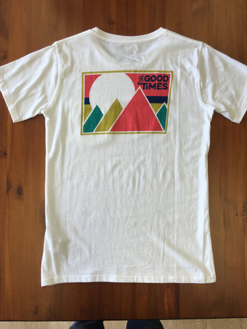 Rowdy Range Pocket Tee White