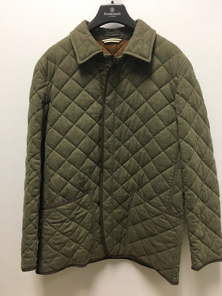 Quilted Jacket Olive