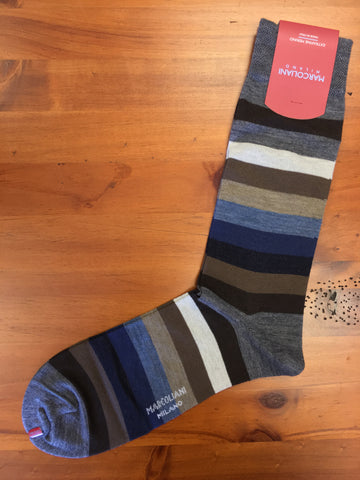 Blue Mix Milano Stripe