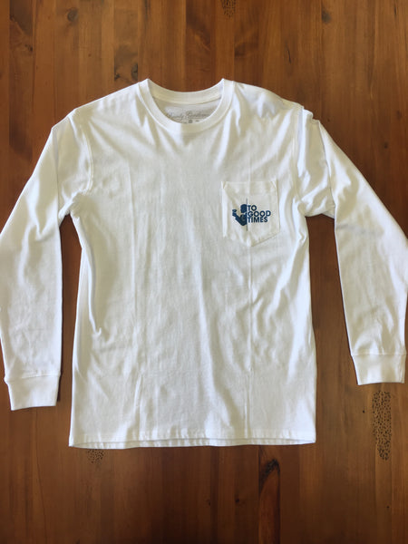 Three Sheets Long Sleeve Pocket Tee