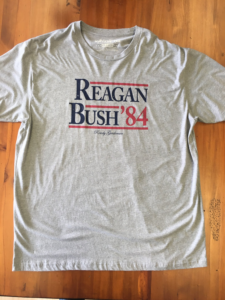 Reagan Bush '84 Gray