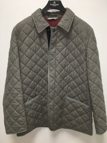 Quilted Jacket Stone