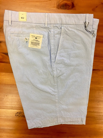 Light Weight Summer Short Cashmere Blue