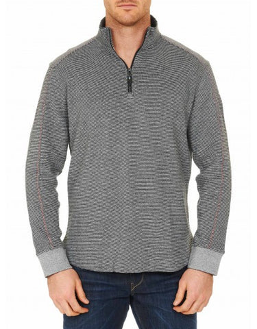 Comstock Knit Pullover - Heather Gray
