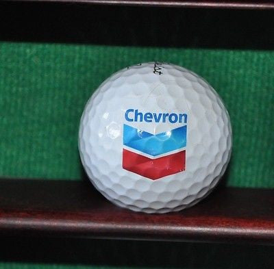 Chevron logo golf ball. Titleist Pro V1. Excellent condition.