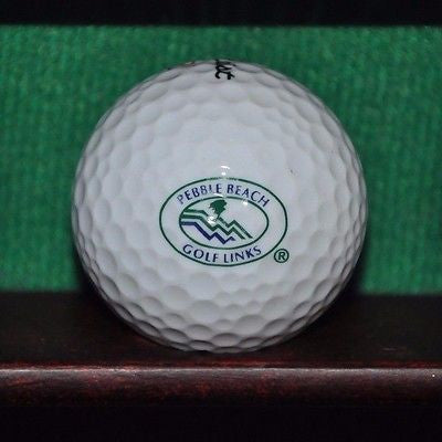 Vintage Pebble Beach Golf Links Logo Golf Ball. Titleist Excellent Condition.