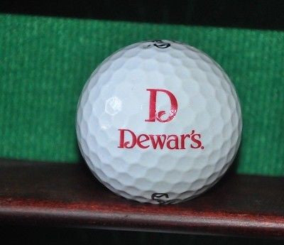 Dewar's Whiskey logo golf ball. Callaway