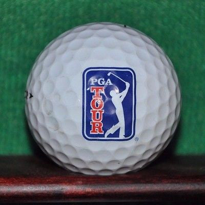 PGA Tour logo golf ball. CDW Corporation logo . Nike Vapor Black.